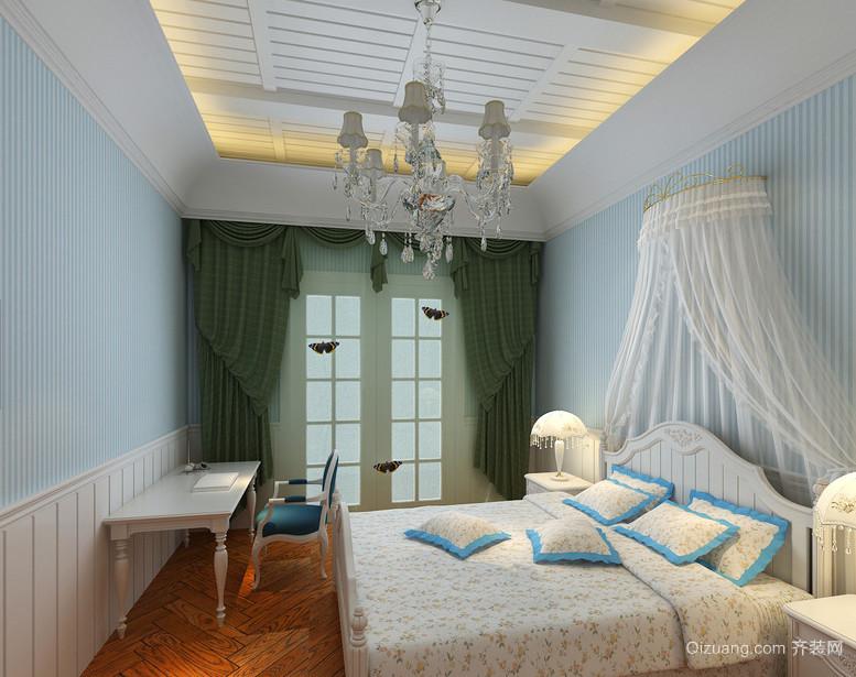 128平米可爱温馨现代风格儿童房设计装修效果图