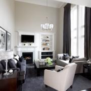 现代美式客厅图片