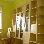 复式楼家常简约实用型木质书柜