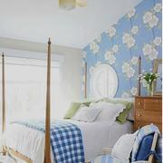 美式浪漫的卧室
