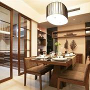 典型新中式创意型厨房餐厅