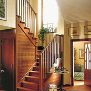 实木创意楼梯装修大全