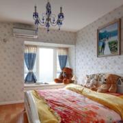 现代田园舒适卧室