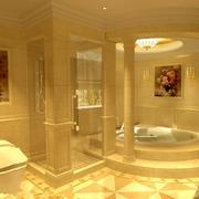 豪华大型别墅卫生间