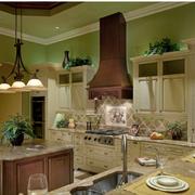 家装美式开放式厨房