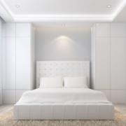 卧室白色时尚榻榻米