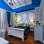 亮丽型卧室壁纸设计
