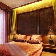 卧室美式背景墙
