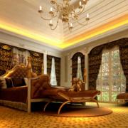 典雅尊贵的卧室