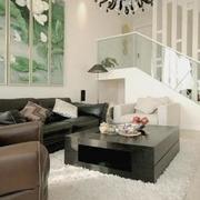客厅沙发山水装饰画