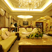 温馨宜人的别墅客厅