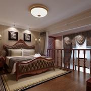 跃层式家居卧室