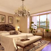 优美精致的卧室