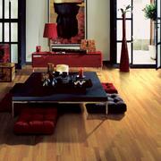 欧式简约型黄木色木地板