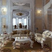 复式别墅简欧客厅