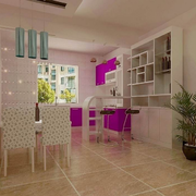 现代宜家单身公寓厨房