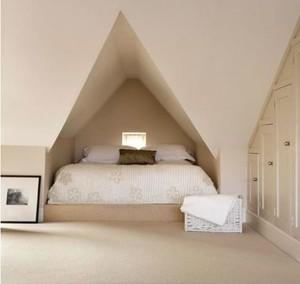阁楼造型简约卧室