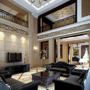 别墅客厅豪华装潢