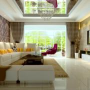 复式楼客厅装潢