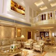 别墅客厅豪华设计