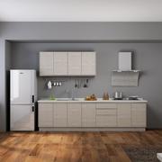三室一厅厨房木地板