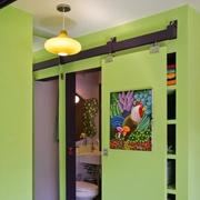 客厅卫生间隐形门