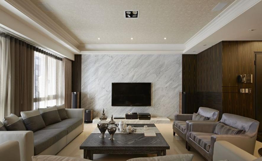 120平方米室内电视背景墙装修效果图大全2014图片