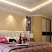 现代宜家的卧室展示