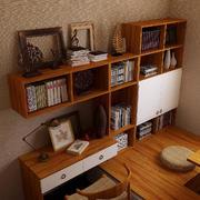 书房墙面置物架
