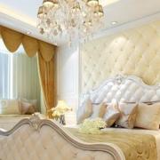 彩色柔和的卧室