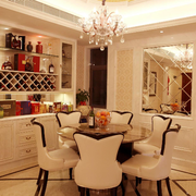 小户型餐厅欧式酒柜