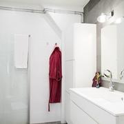 白色调公寓效果图片