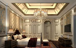 大户型豪华别墅卧室