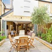 别墅休闲的庭院设计