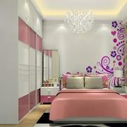 粉色浪漫卧室衣柜
