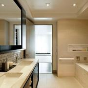 浴室水池装修图片