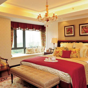 温馨暖色调卧室