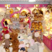 粉色浪漫玩具店设计