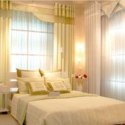 卧室舒适宜家窗帘