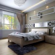 卧室墙面置物架