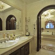 别墅美欧式洗手间