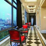 简约风格客厅地板砖