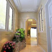 现代复式别墅露台