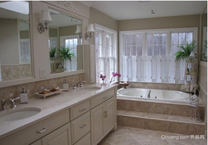 北欧后现代浴室装修效果图
