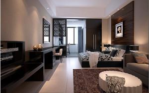 深色调公寓设计图片
