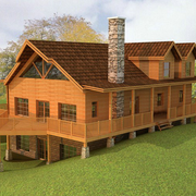 暖色调木屋设计大全