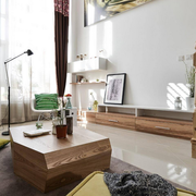 公寓客厅效果图片