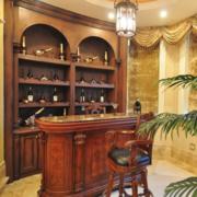 古典系列酒柜设计大全