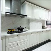 现代小户型简约白色厨房