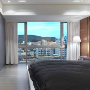 公寓时尚简约卧室